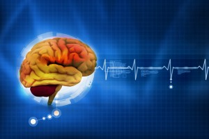 Brain activity - tiny electrical signals