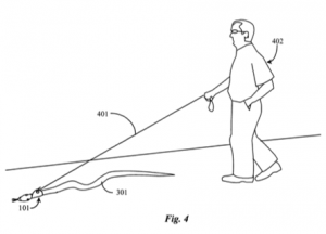 Snake Walking System Patent graphic